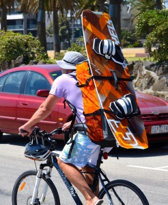Kiteboarding enthusiast