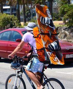 Kiteboarding enthusiast