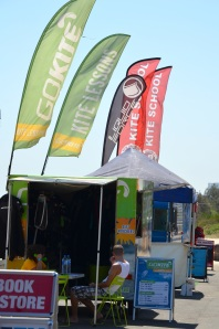 Kiteboarding Lesson Shacks