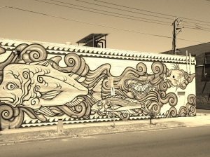 Conways mural